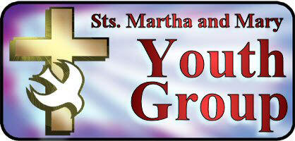 Sts. Martha and Mary Youth Group Logo