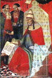 Painting of Honorius IV